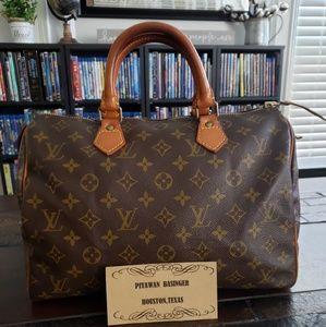 Authentic Louis Vuitton Speedy 30